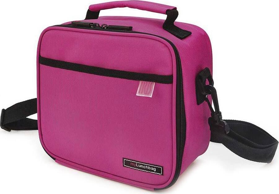 Термосумка Ланч бокс CLASSIC MyLunchbag с контейнерами 0,6 и 0,8 л/ Розовый
