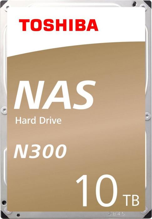 Жесткий диск 10Tb SATA-III Toshiba N300 NAS, HDWG11AUZSVA жесткий диск toshiba sata iii 10tb hdwg11auzsva nas n300 7200rpm 256mb 3 5 bulk