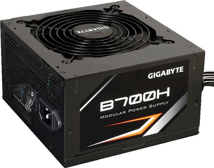 Блок питания Gigabyte GP-B700H 700W блок питания bequiet straight power 10 700w v2 4 a pfc 80 plus gold fan 13 5 cm modular retail
