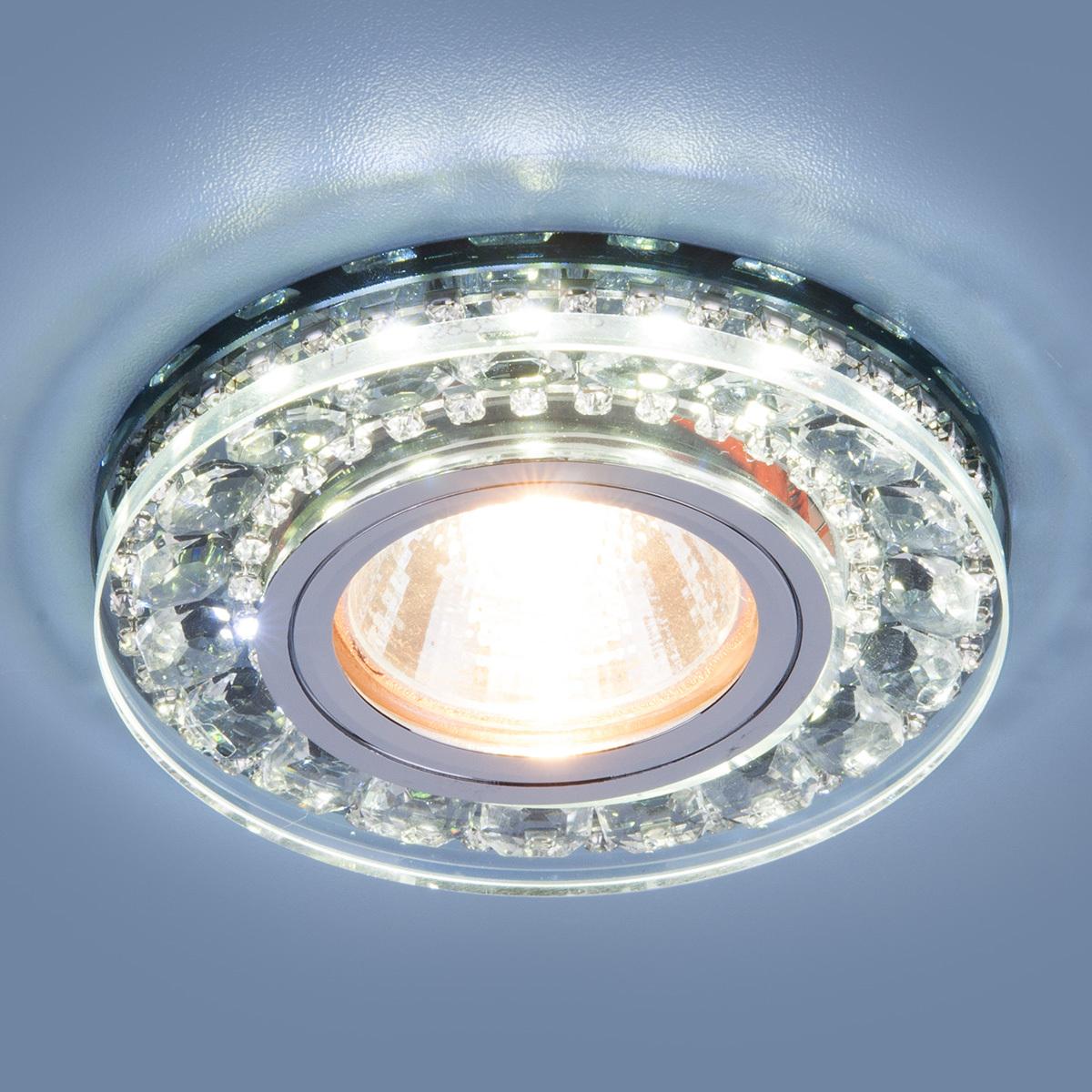 цены на Встраиваемый светильник Elektrostandard Точечный светодиодный 2192 MR16 SBK, G5.3 в интернет-магазинах