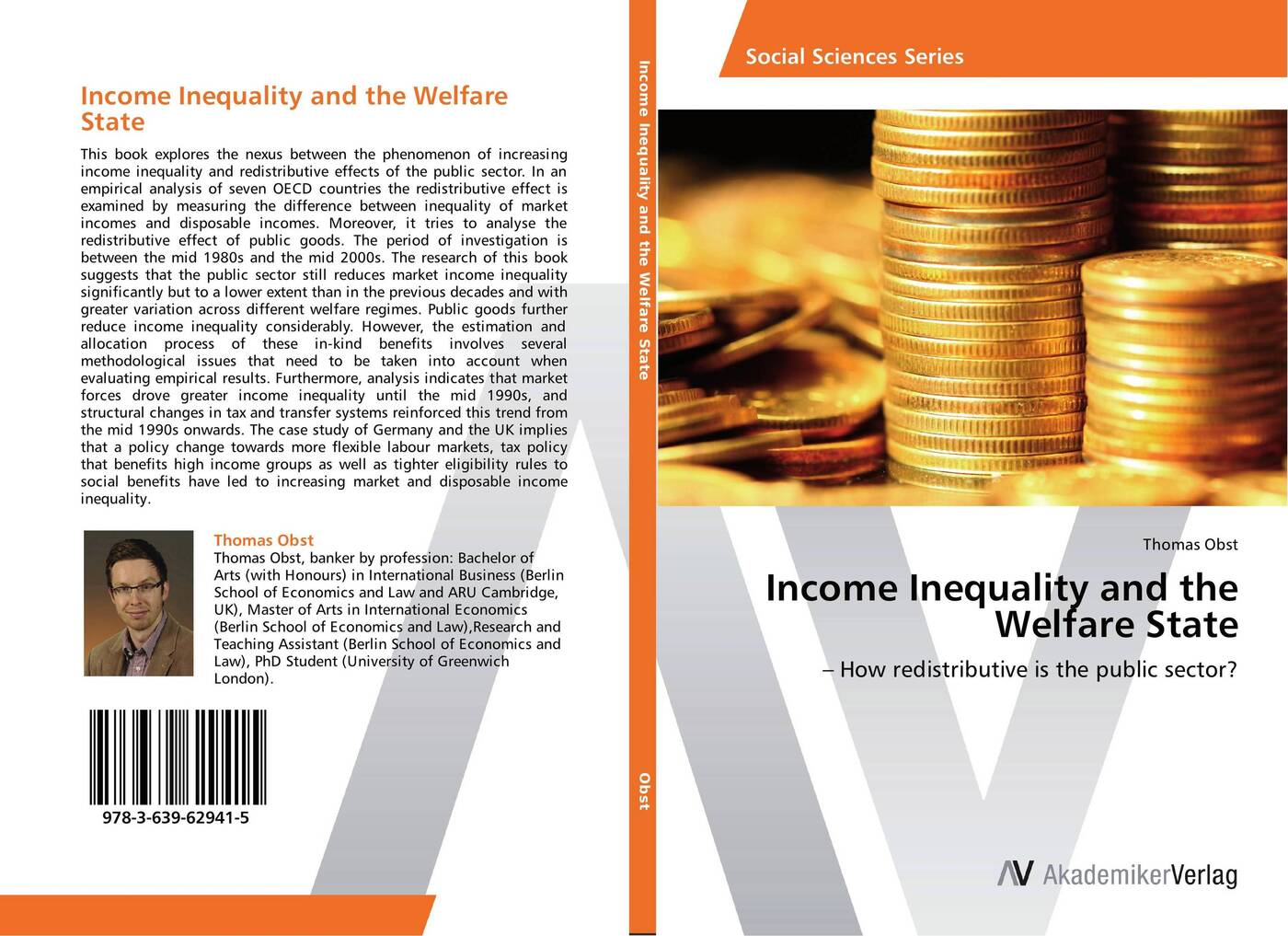 Thomas Obst Income Inequality and the Welfare State how public policy impacts racial inequality