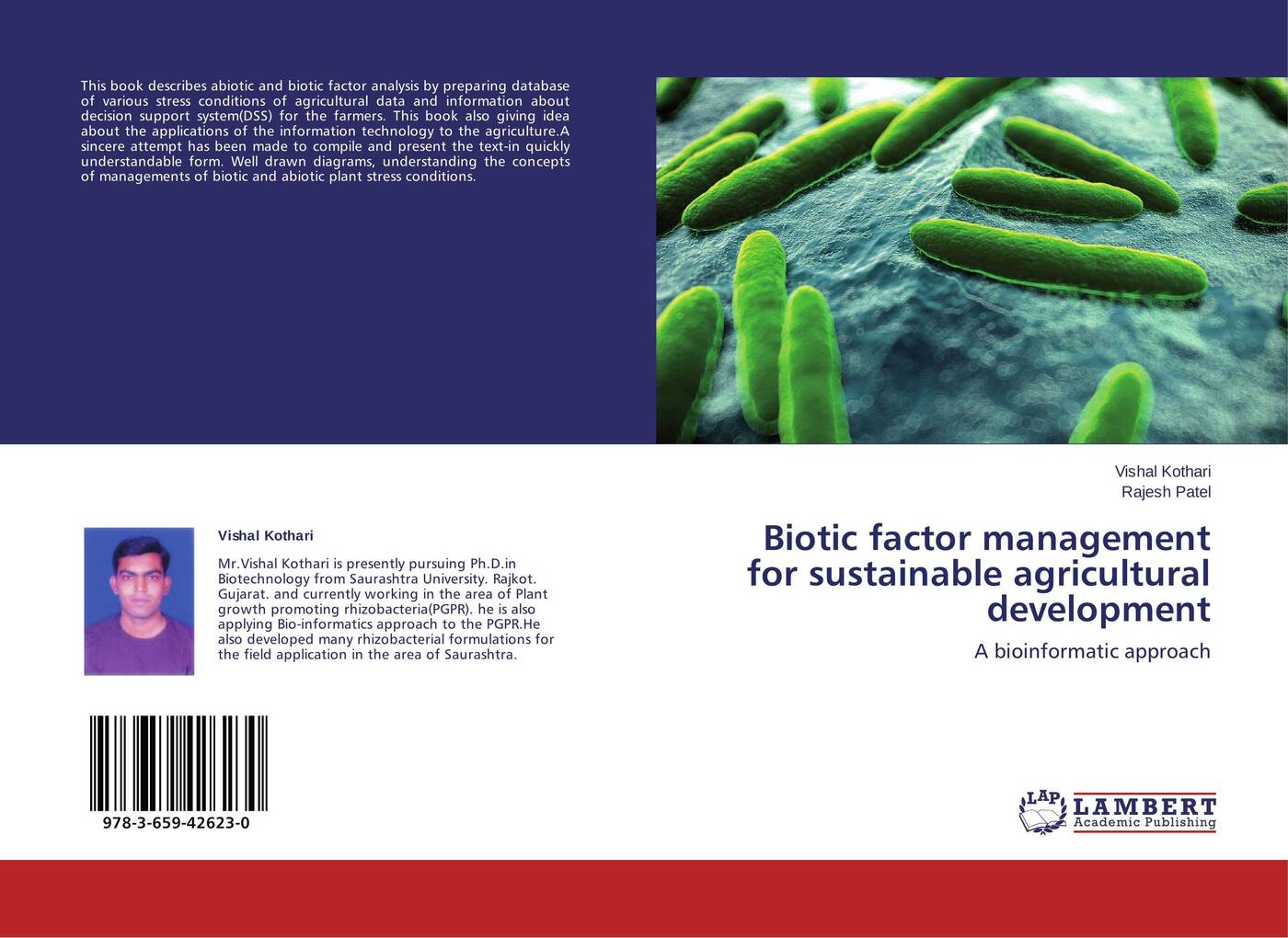 купить Vishal Kothari and Rajesh Patel Biotic factor management for sustainable agricultural development по цене 3961 рублей