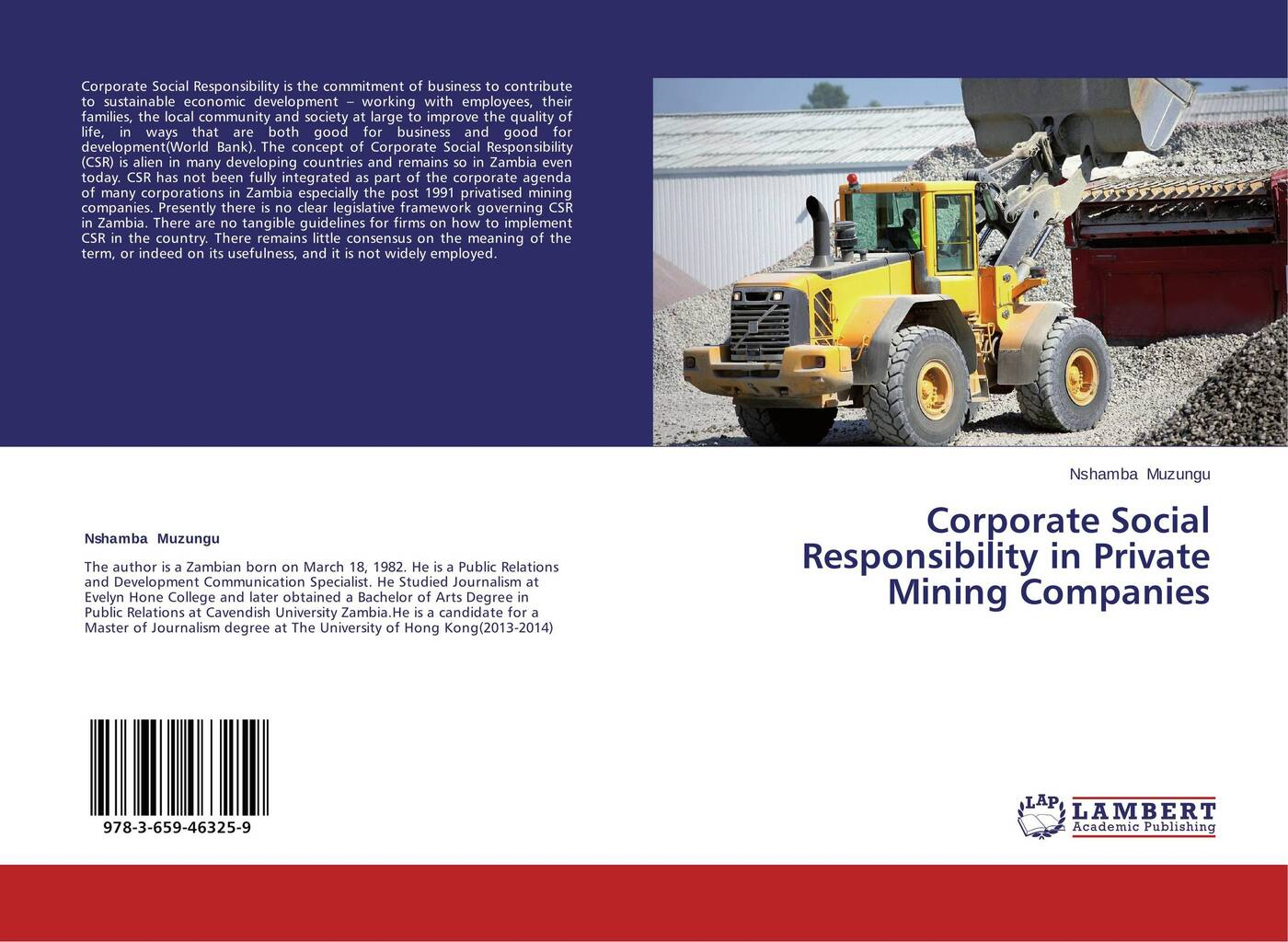 Nshamba Muzungu Corporate Social Responsibility in Private Mining Companies citizenship education and social development in zambia pb