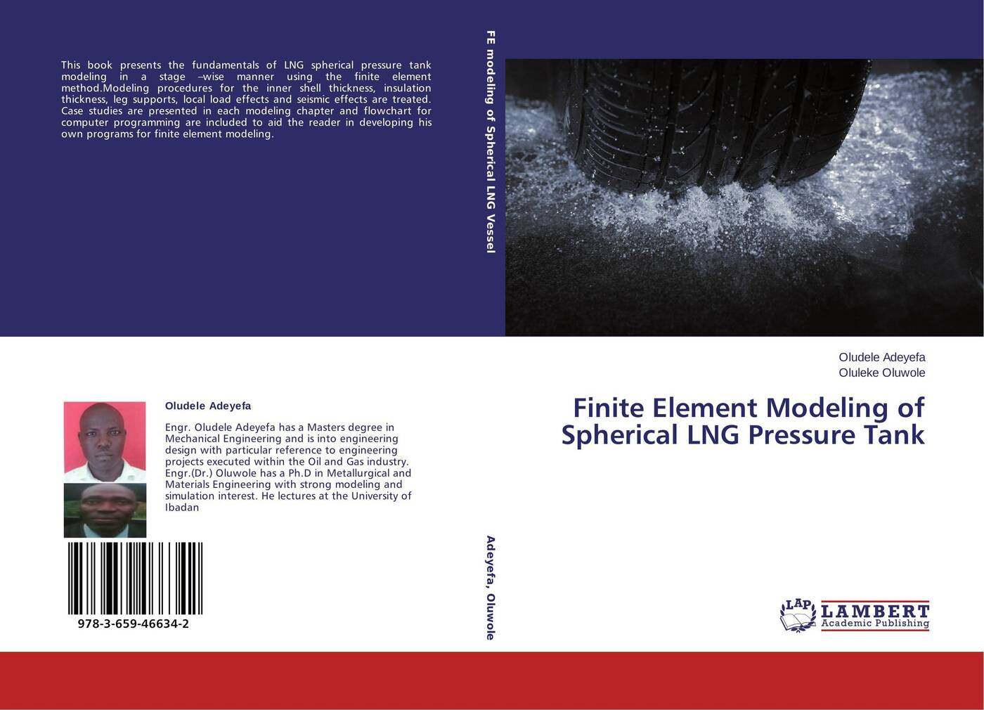 Oludele Adeyefa and Oluleke Oluwole Finite Element Modeling of Spherical LNG Pressure Tank anna stankiewicz plate and shell structures selected analytical and finite element solutions
