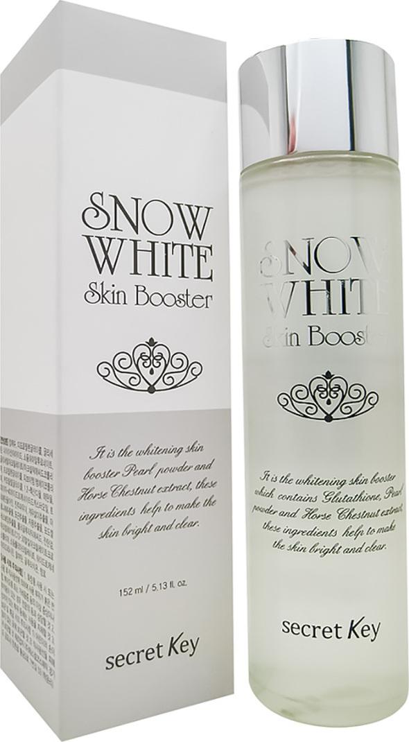 SECRET KEY SNOW WHITEОсветляющий бустер с ниацинамидом и экстрактом жемчуга, 152 мл Secret Key