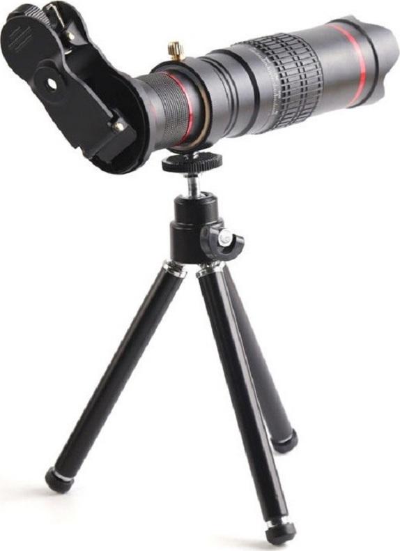 Универсальный объектив-телескоп  для смартфона Вот только проблема, производителям еще не удалось разместить...