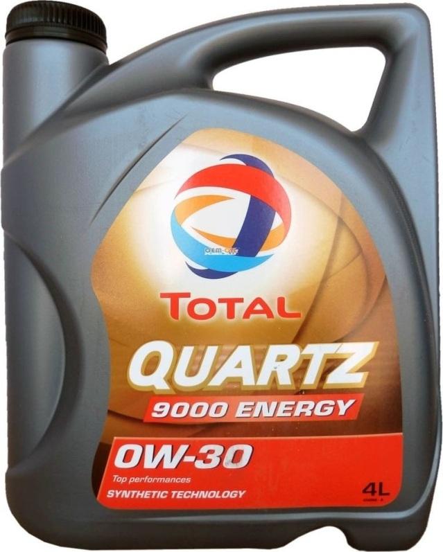 Моторное масло TOTAL Quartz 9000 Energy 0W-30 4 л
