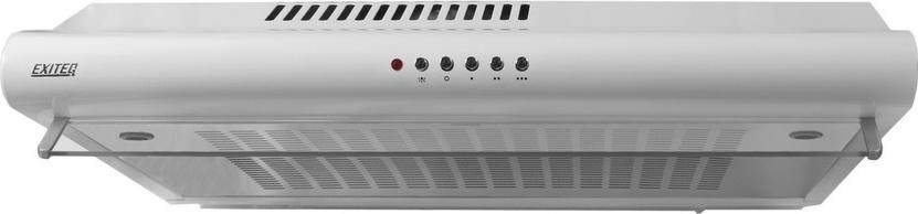 Кухонная вытяжка Exiteq Standart 501, белая Тип козырьковая Ширина 50 см Управление механическое кнопочное...