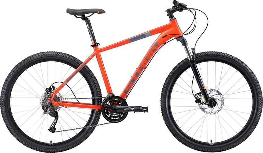 Велосипед Stark'19 Router 27.4 HD оранжевый/серый, 16' (H000013783)