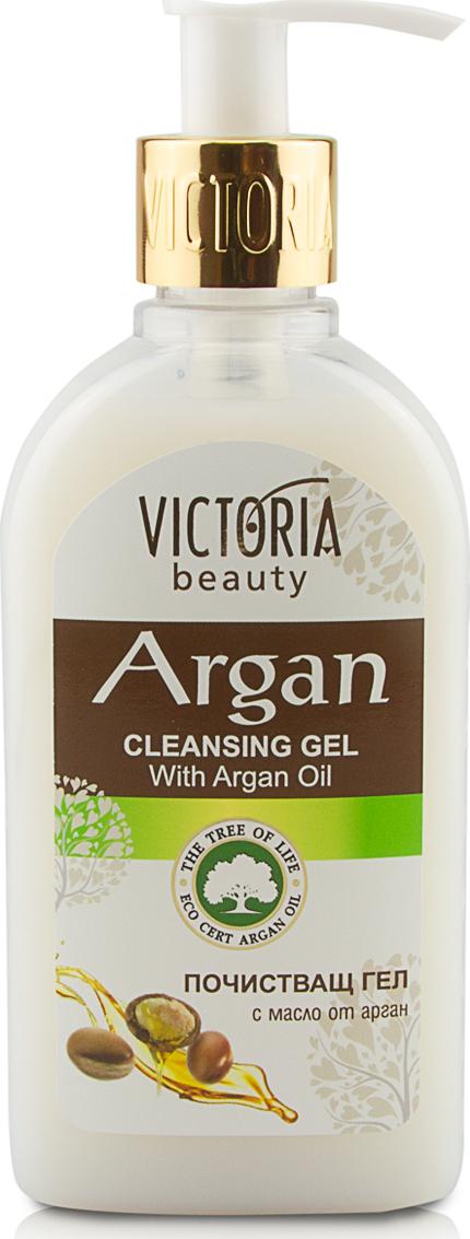Очищающий гель для лица VICTORIA BEAUTY   с аргановым маслом 200 мл Нет бренда