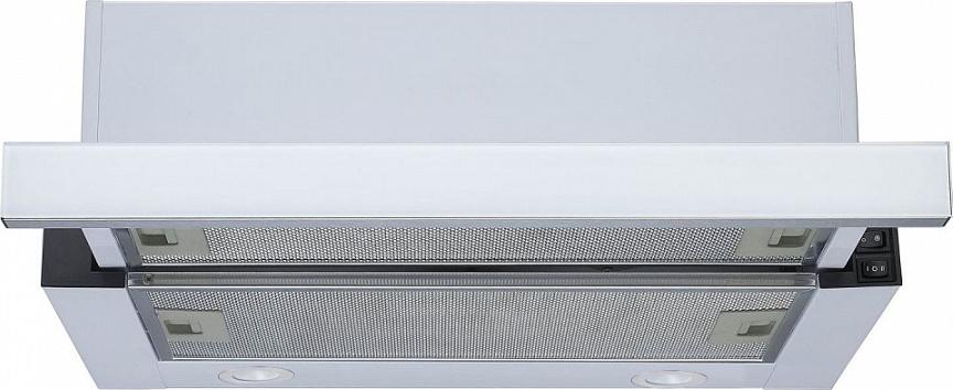Встраиваемая вытяжка Maunfeld VS Fast 50, белая Встраиваемая вытяжка из высококлассной стали встраивается шкаф...