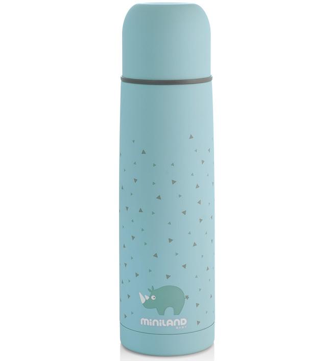 Термос для жидкостей Miniland Silky Thermos голубой 500 мл