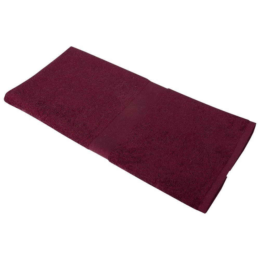 Полотенце Soft Me Medium, гранатовое