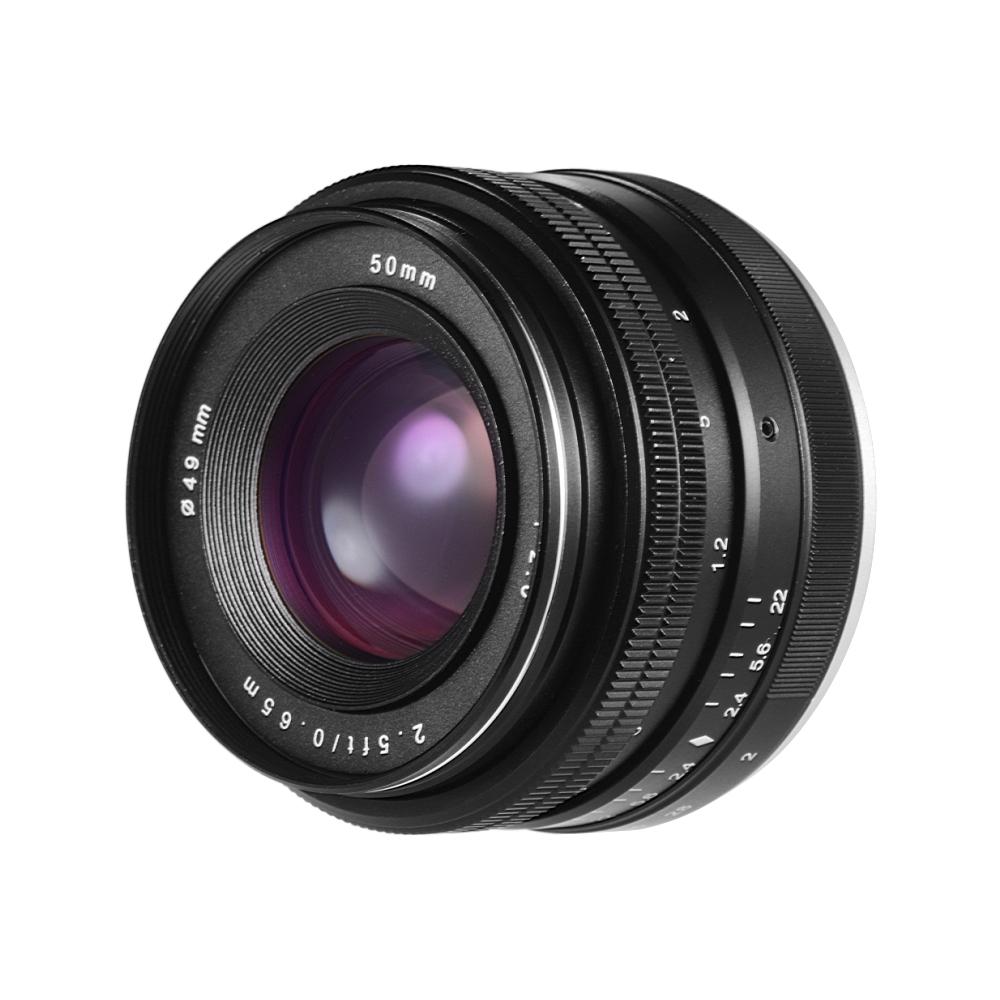 50 мм f / 2.0 USM с большой диафрагмой APS-C Ручная фокусиро
