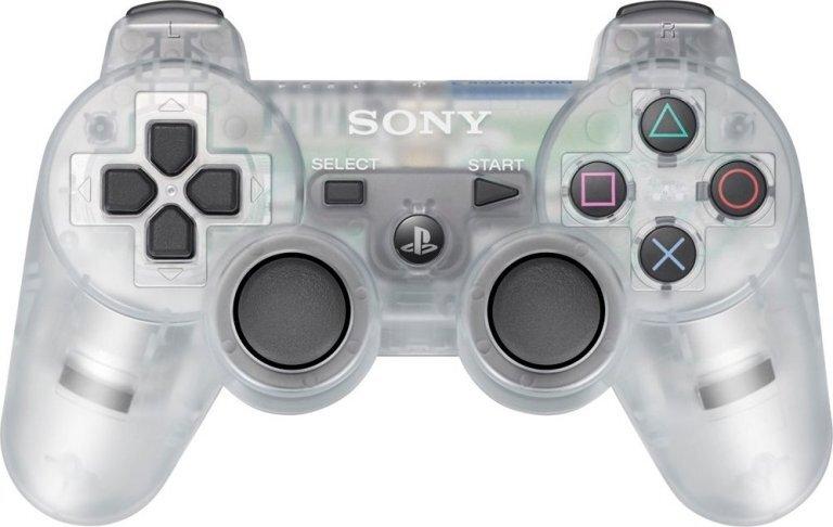 Геймпад Playstation 3 Dualshock 3 Прозрачный (Transparent)