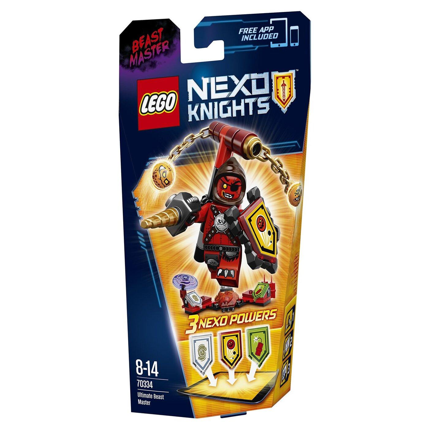 LEGO Nexo Knights Конструктор Укротитель  Абсолютная сила  70334