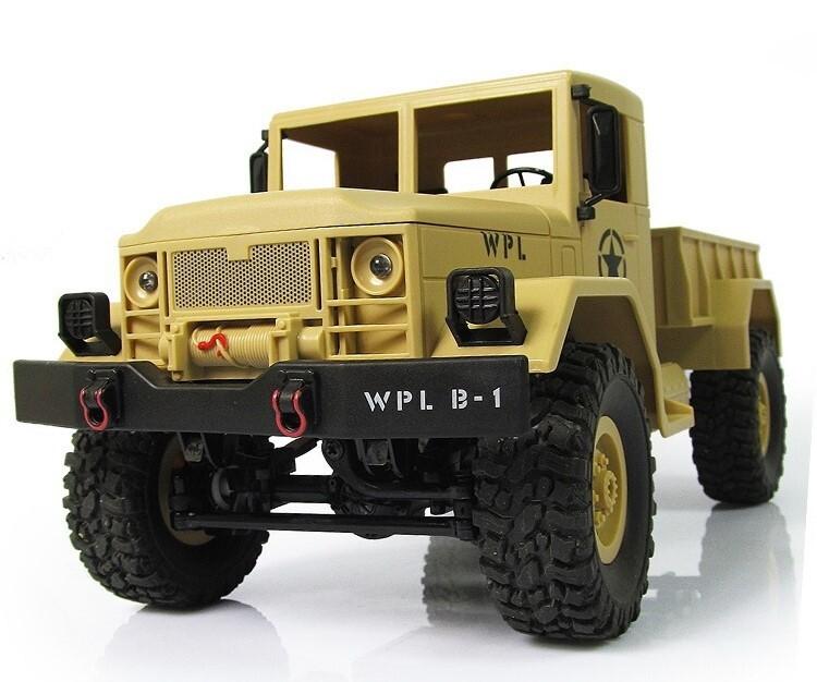 Грузовик желтый Pro 1/16 4WD электро