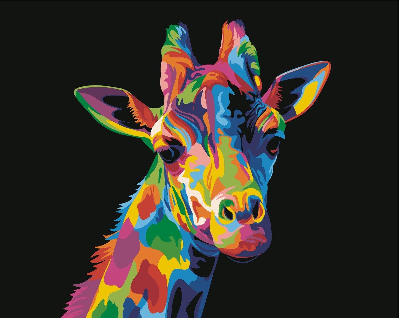 Радужные животные картинки