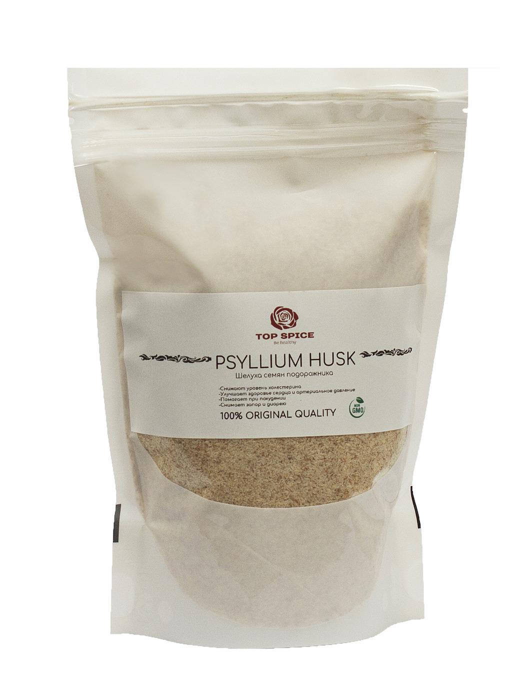 Псиллиум, bio organiс. Шелуха 200 гр. Мощная клетчатка