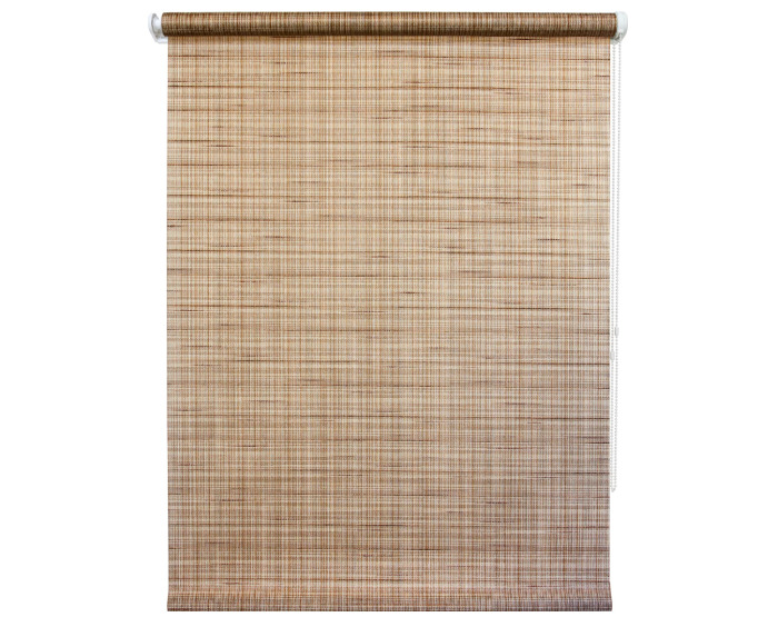 Штора рулонная 40х160 см, цвет коричневый-20217