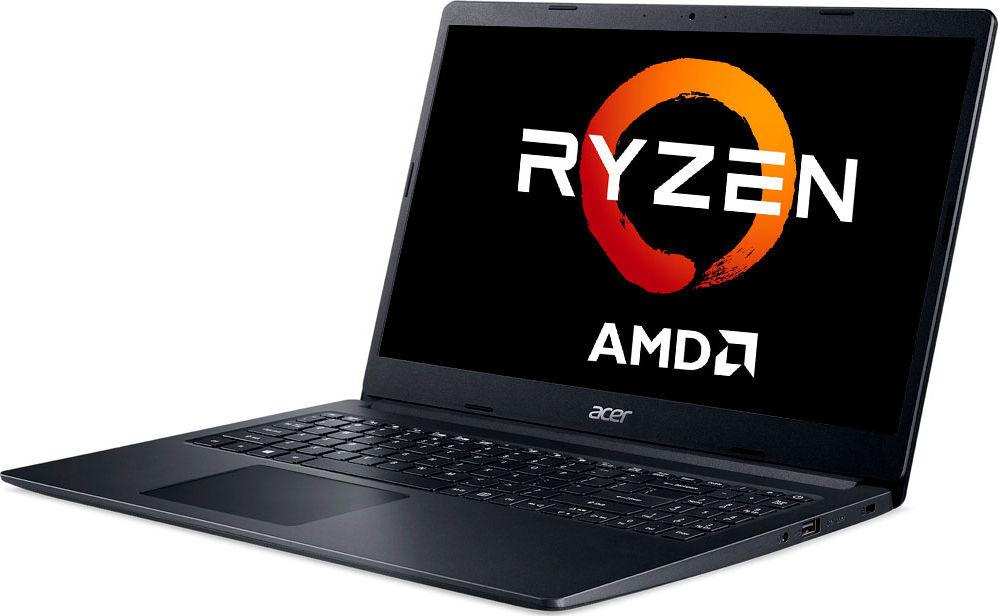 """15.6"""" ноутбук acer extensa 15 ex215-22-r5nc, amd ryzen 3 3250u (2.6 ггц), ram4 гб, ssd 256 гб amd radeon radeon vega 3, windows 10 home, (nx.eg9er.00q), черный"""