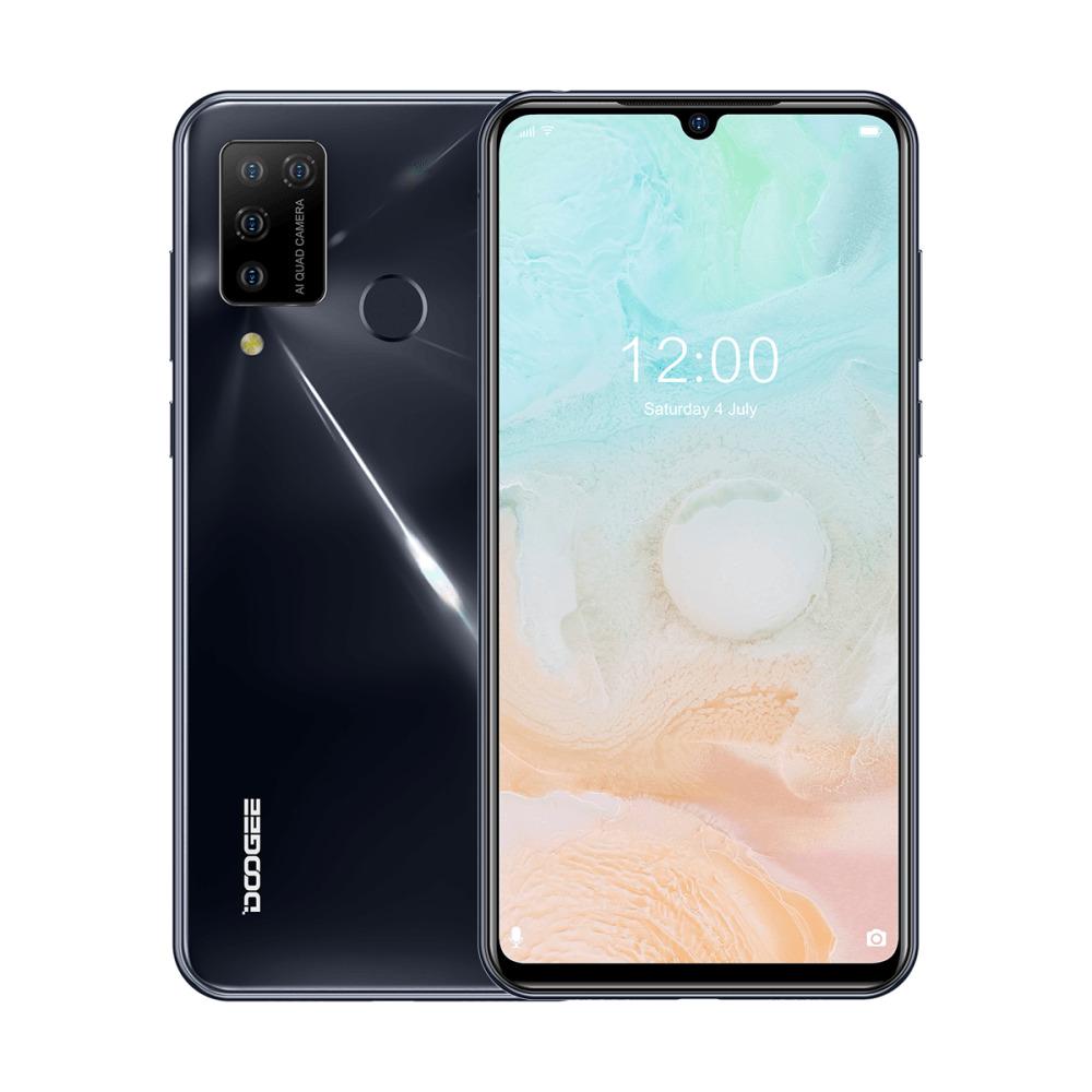 смартфон doogee n20 pro space gray 6/128 gb 6/128gb, космический серый