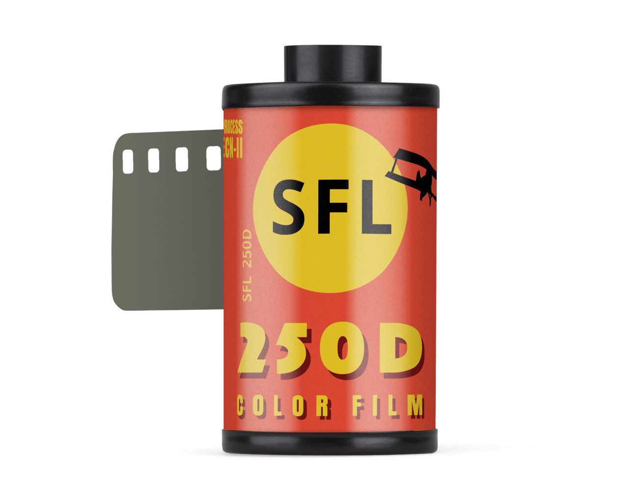 фотопленка sfl kodak 250d (135/36) цветная негативная в кассете