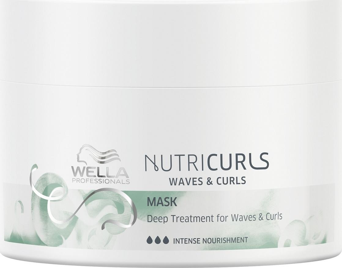 Wella Nutricurls Deep Treatment for Waves and Curls - Питательная маска для вьющихся и кудрявых волос #1