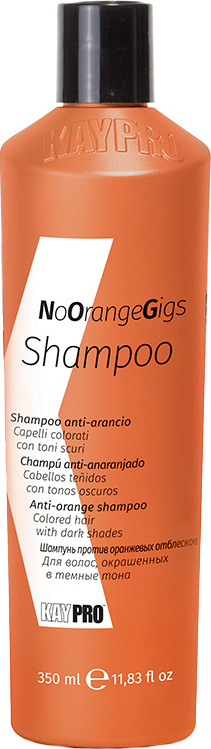 Шампунь для волос против нежелательных оранжевых оттенков KAYPRO No Orange Gigs 350 мл  #1