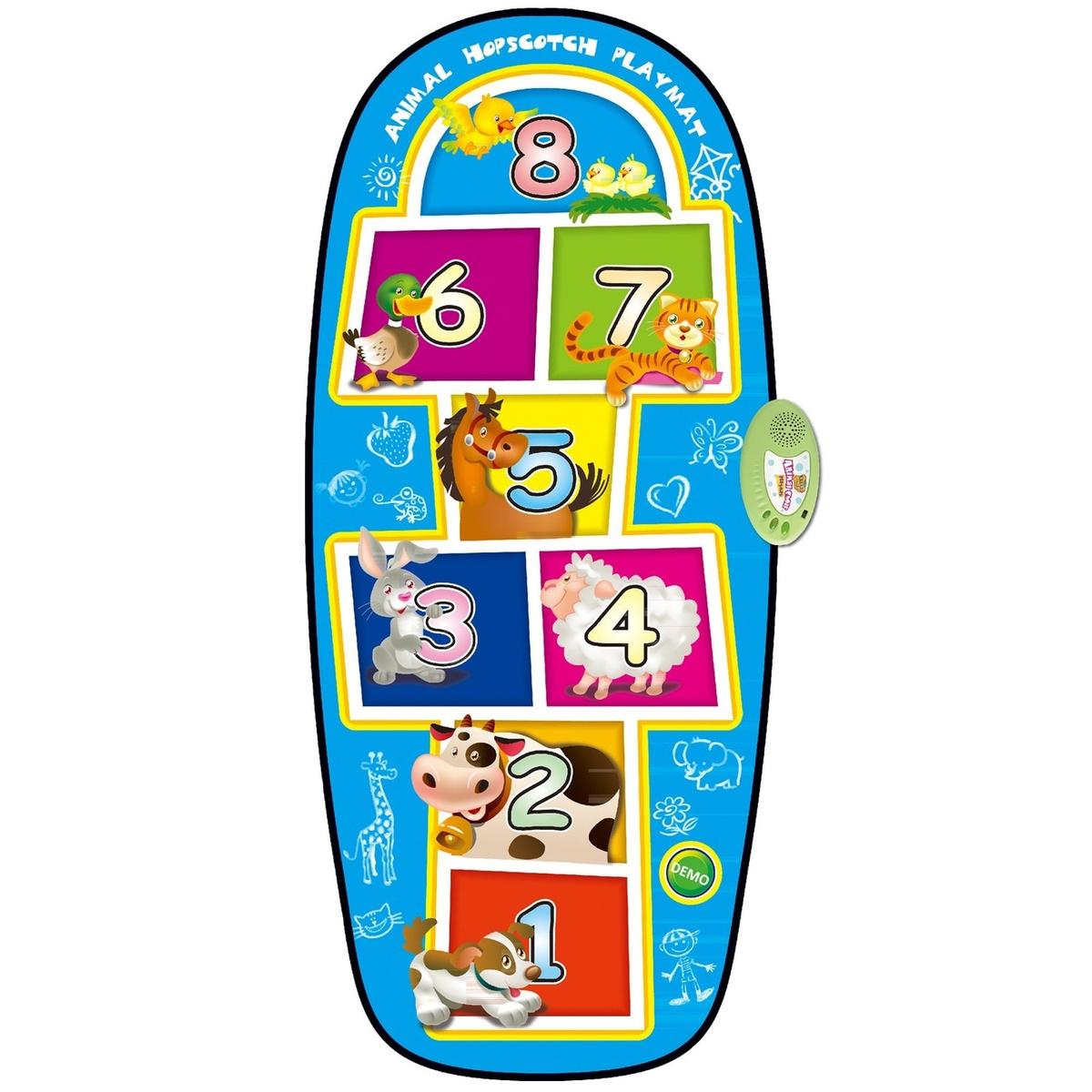 Игровой музыкальный коврик для детей Animal Playmat #1