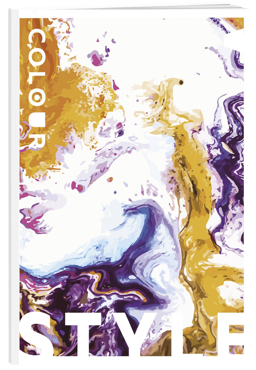 Colour style. Тетрадь общая (А5, 48 л., УФ-лак) | Нет автора #1
