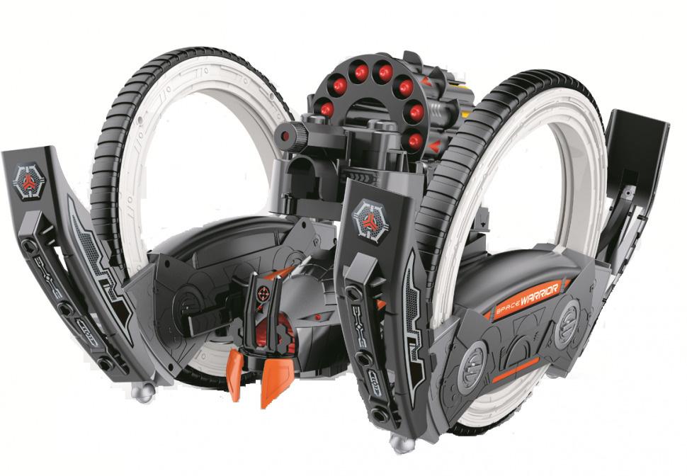 Радиоуправляемая боевая машина Keye Toys Space Warrior (лазер, стрелы) 2.4G - KT803  #1