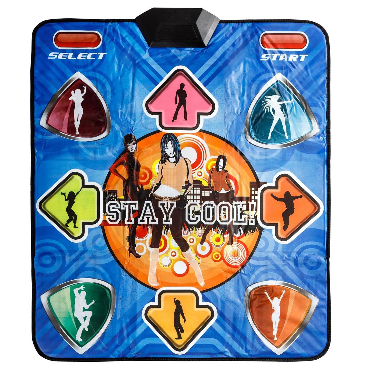 Беспроводной танцевально-игровой коврик Stay Cool ASPEL со светящимися стрелками (32 бита)  #1