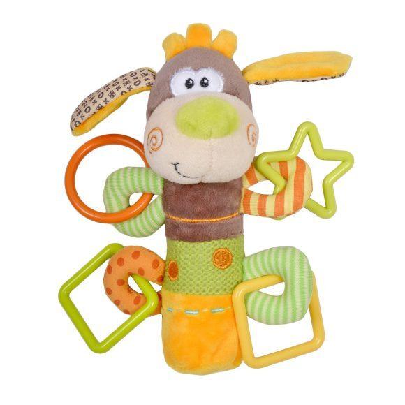 """Игрушка-пищалка Жирафики с погремушками """"Песик Том"""" #1"""