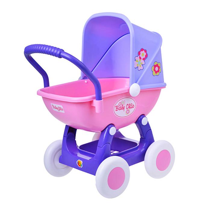 """Полесье коляска для кукол """"Arina"""" 4-х колёсная в пакете #1"""