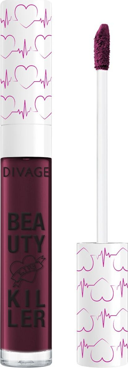 Divage Liquid Lipstick Beauty Killer Помада-блеск для губ, № 06 #1