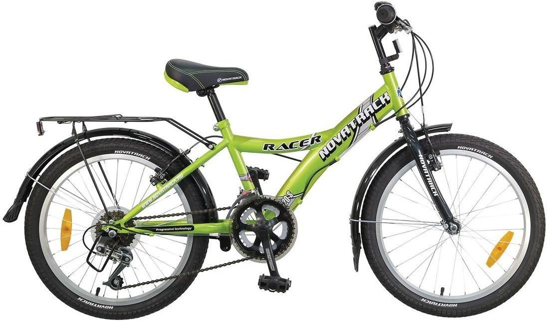 """Велосипед детский Novatrack """"Racer"""", 20"""", зеленый #1"""