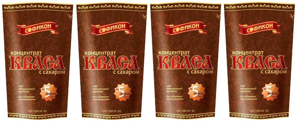 Софикон Концентрат кваса с сахаром 0,5 л, 4 шт #1