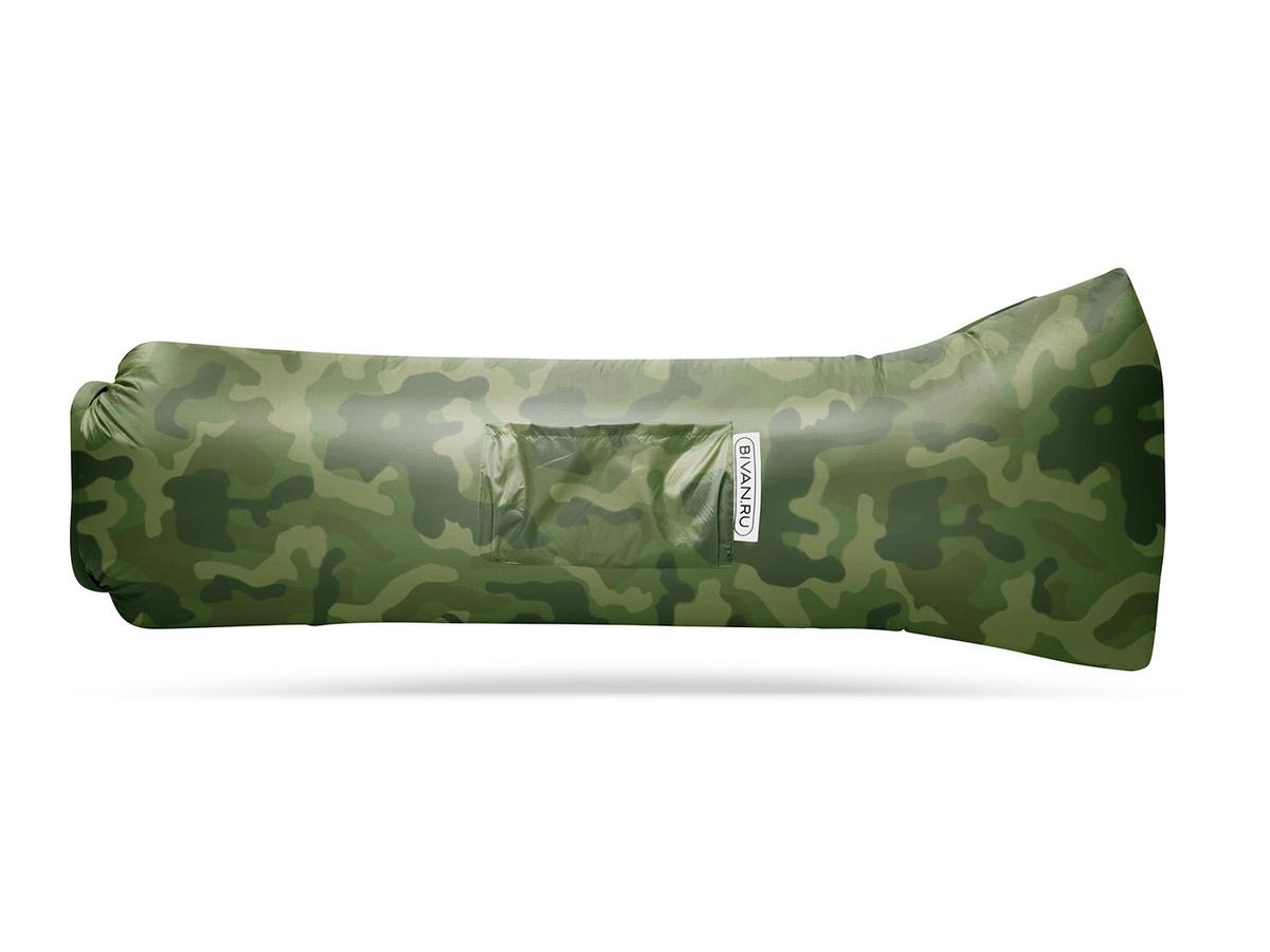 Надувной диван БИВАН 2.0 (BVN17-ORGNL-CAM), цвет хаки #1