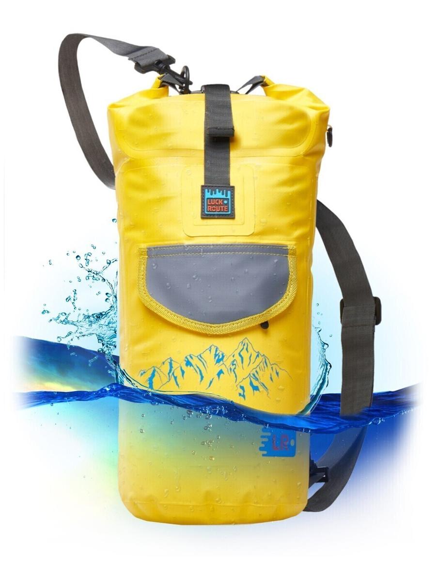 Водонепроницаемый Гермомешок Luckroute для Туризма, Пляжа, Рыбалки и всех Водных видов спорта - Рюкзак #1