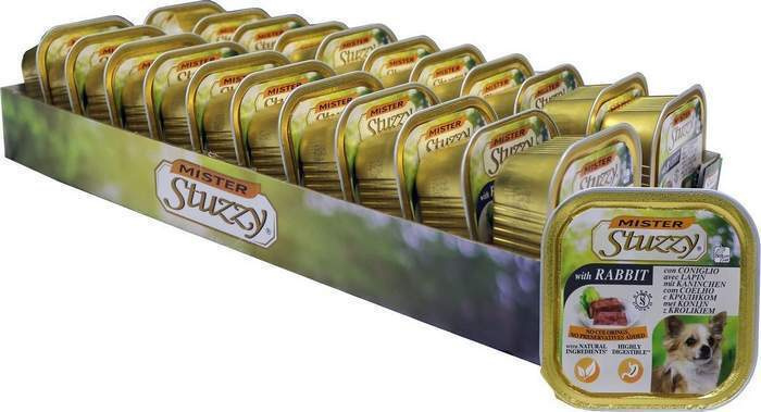 Корм консервированный Stuzzy Mister, для собак, с кроликом, 22 шт по 150 г  #1