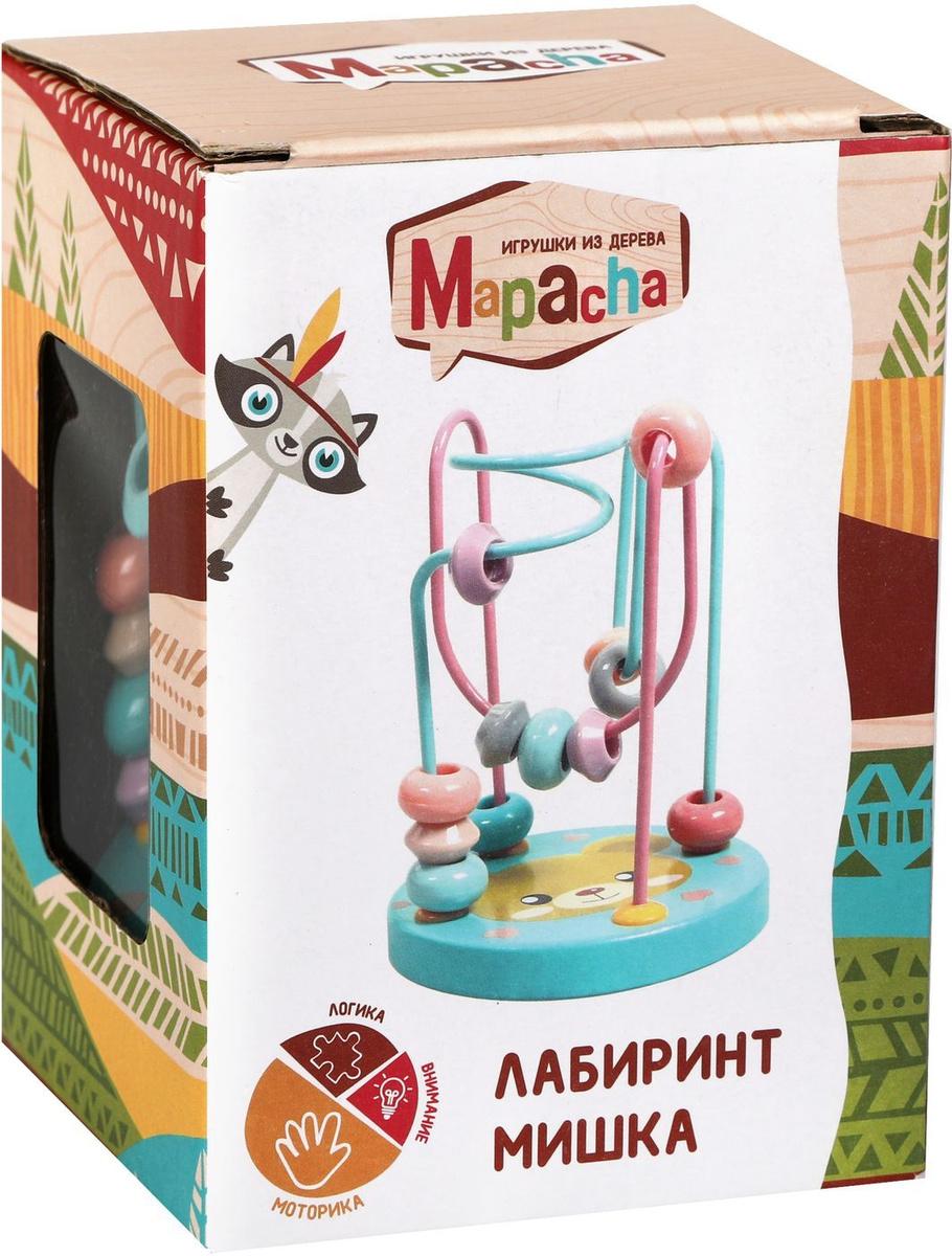 """Лабиринт маленький Mapacha """"Мишка"""", разноцветный, 11 см #1"""