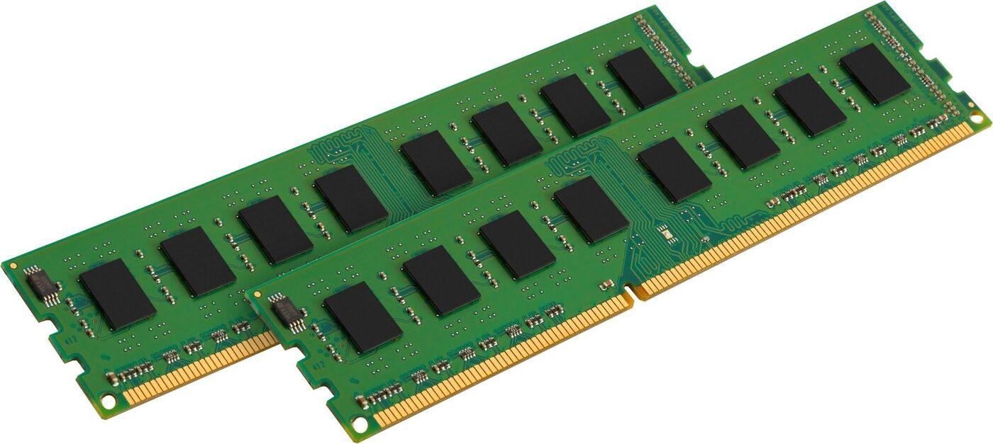 Оперативная память Kingston 8GB DDR3 1333 DIMM KVR13N9S8HK2/8 Height 30mm, Non-ECC, CL9, Kit (2x4GB)