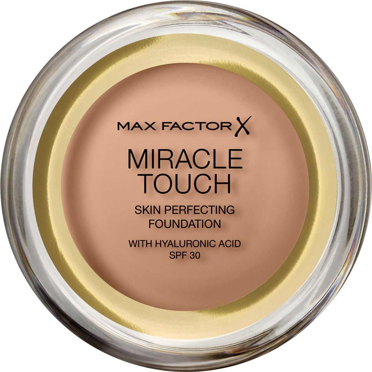 Тональная основа Max Factor Miracle Touch, SPF 30, тон 80 Bronze, 11 мл основа под макияж max factor miracle prep colour correcting cooling тон green 30 мл