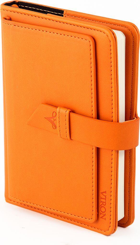 Ежедневник Viron, недатированный, 82715, оранжевый, 80 листов