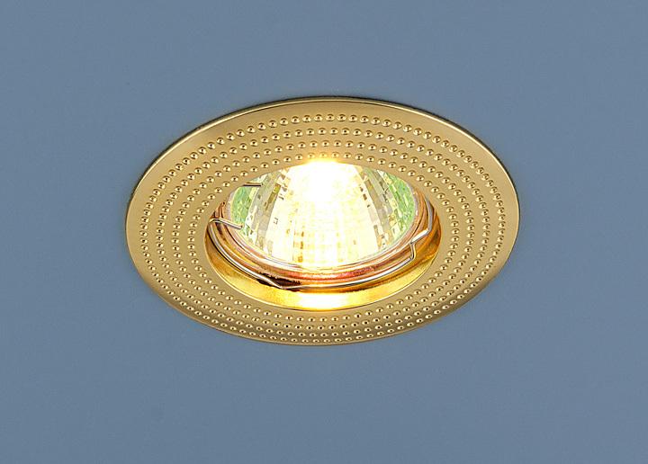 Встраиваемый светильник Elektrostandard Точечныйй 601 MR16 GD, G5.3 светильник встраиваемый escada milano gu5 3 001 gd