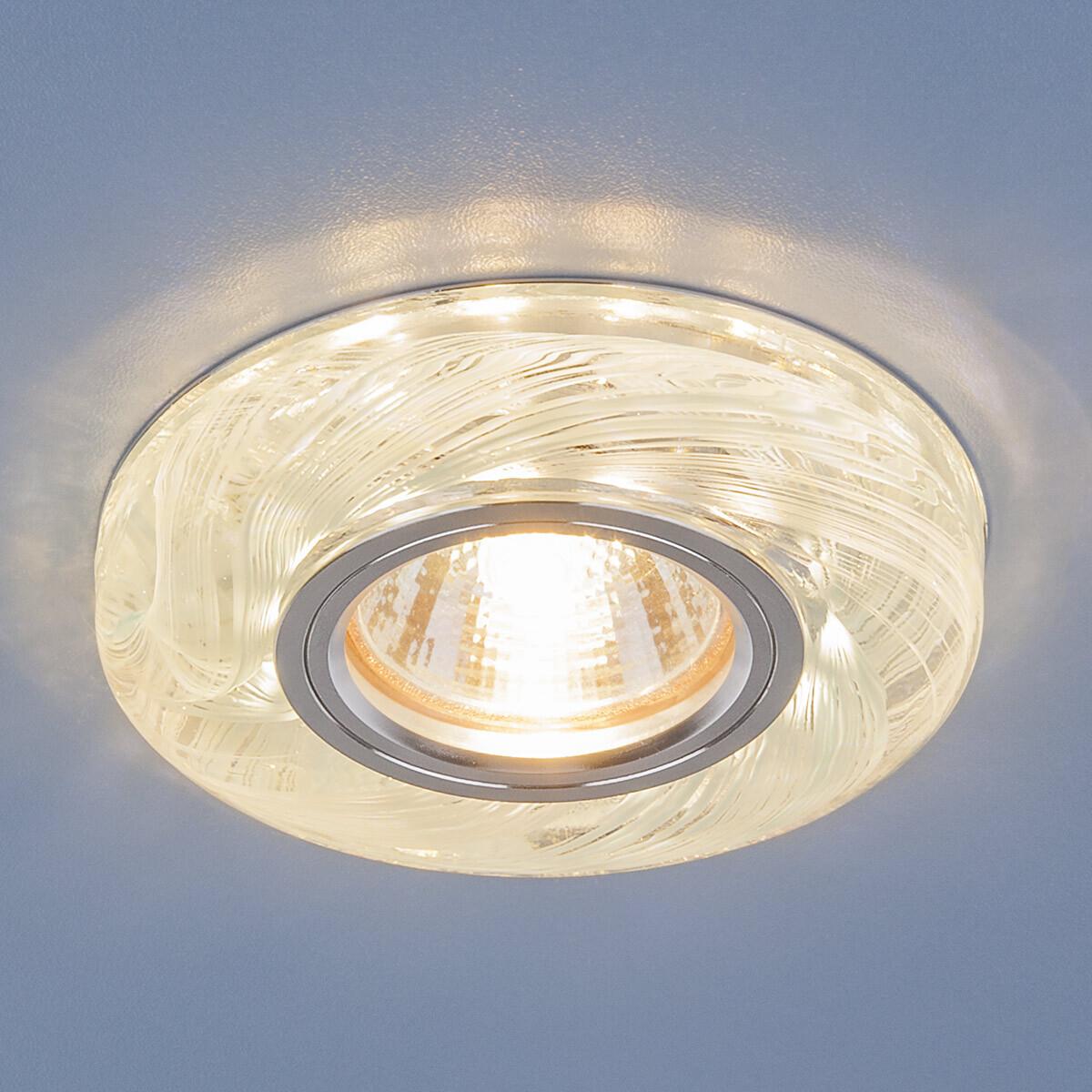Встраиваемый светильник Elektrostandard Точечный светодиодный 2191 MR16 CL/BL, G5.3