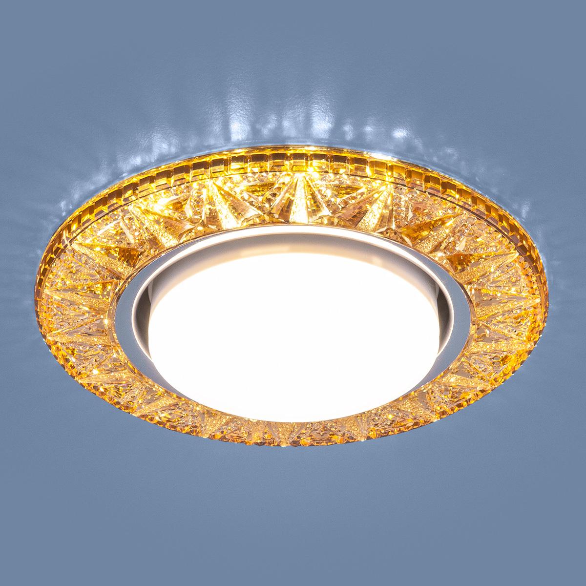 Встраиваемый светильник Elektrostandard Точечный светодиодный 3022 GX53 GD, GX53 светильник встраиваемый escada milano gu5 3 001 gd