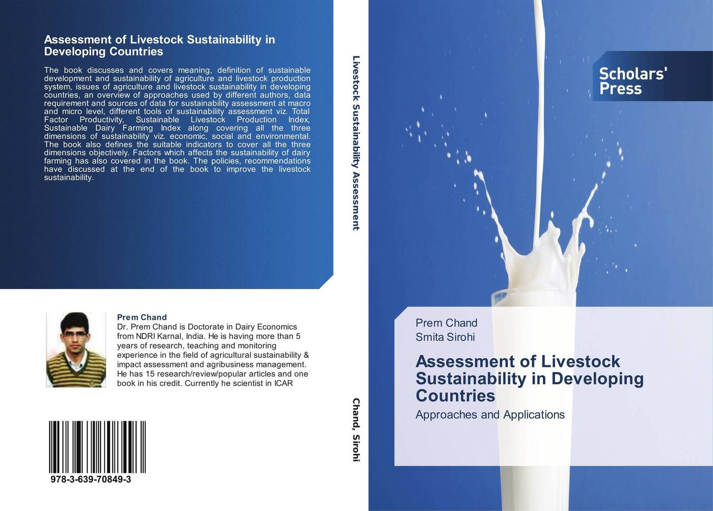 купить Prem Chand and Smita Sirohi Assessment of Livestock Sustainability in Developing Countries по цене 6342 рублей