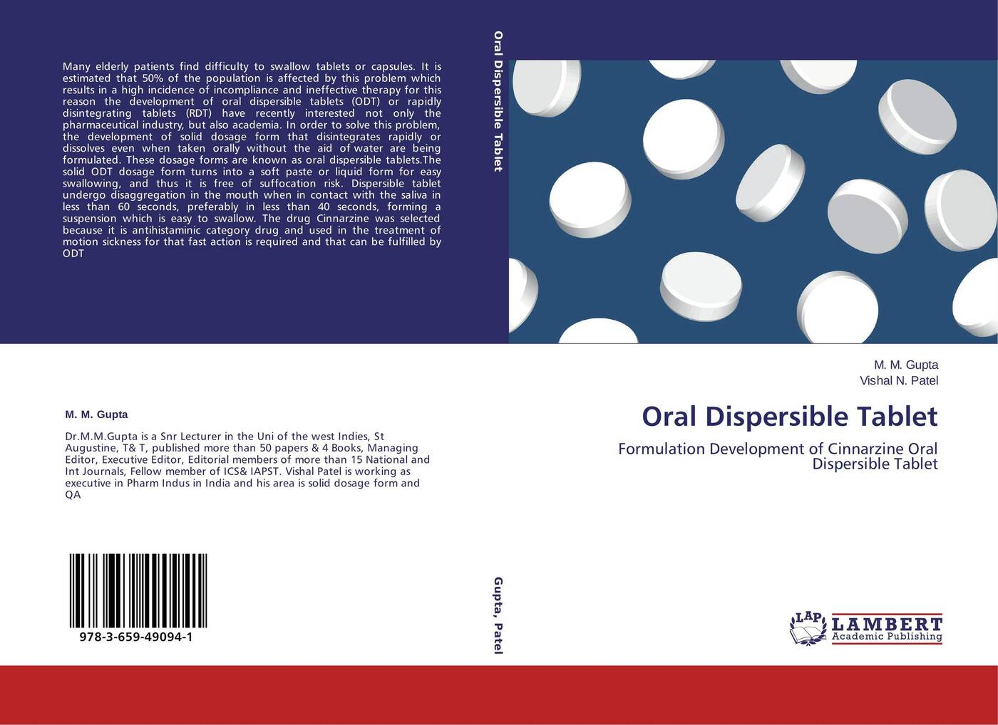 купить M. M. Gupta and Vishal N. Patel Oral Dispersible Tablet по цене 4358 рублей